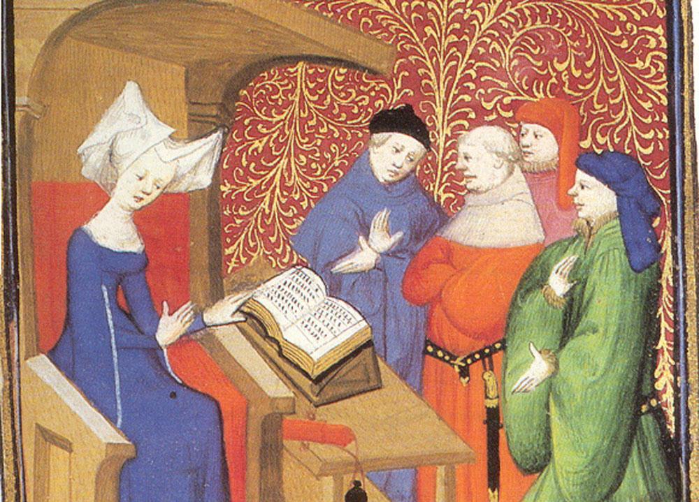 Så yttrade sig kvinnan under medeltiden