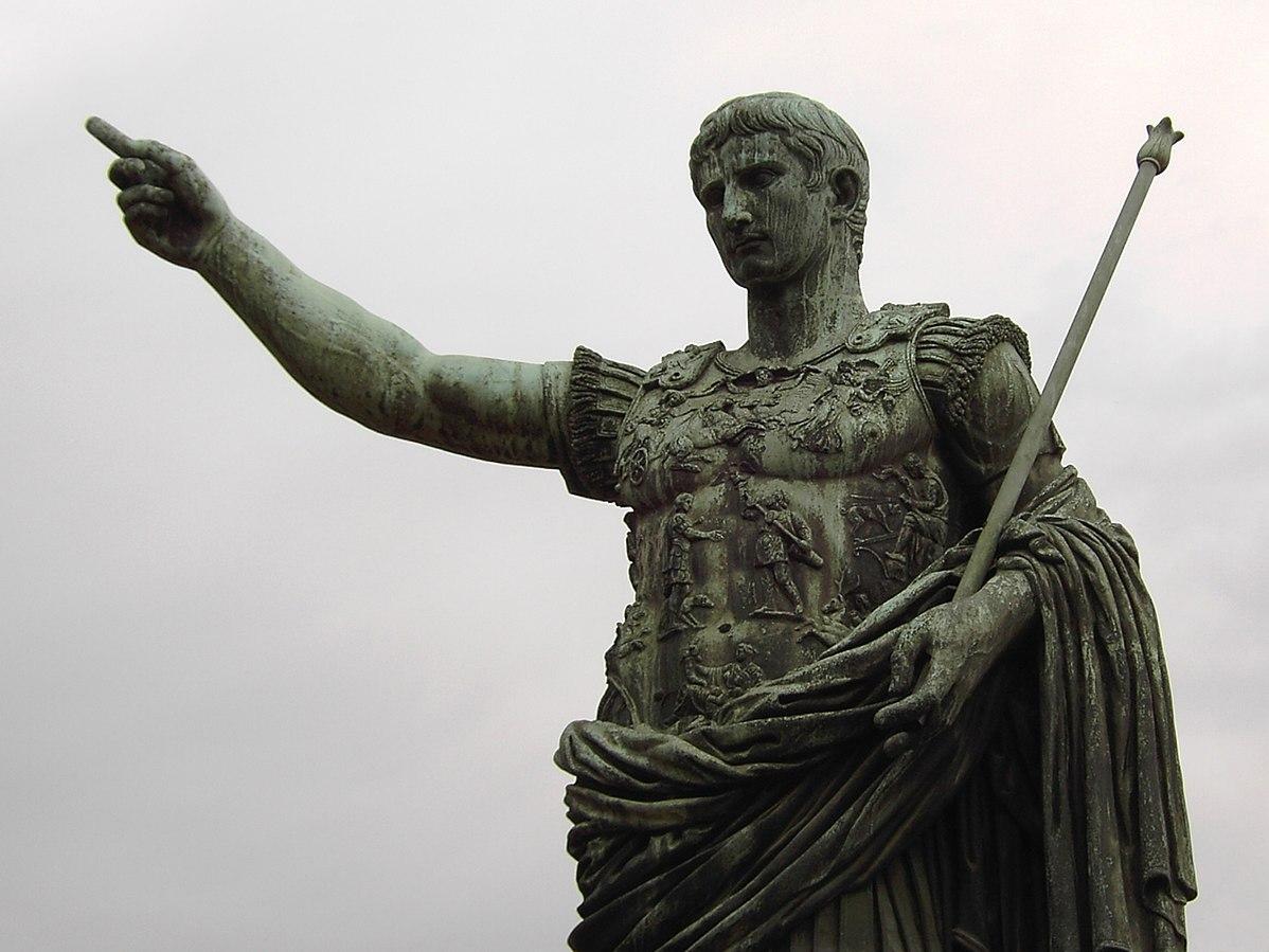Så tog Augustus makten och förvandlade Rom